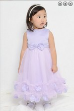 free shipping flower girl dresses for weddings 2016 Lavender purple dress first communion christmas pageant dresses for girls