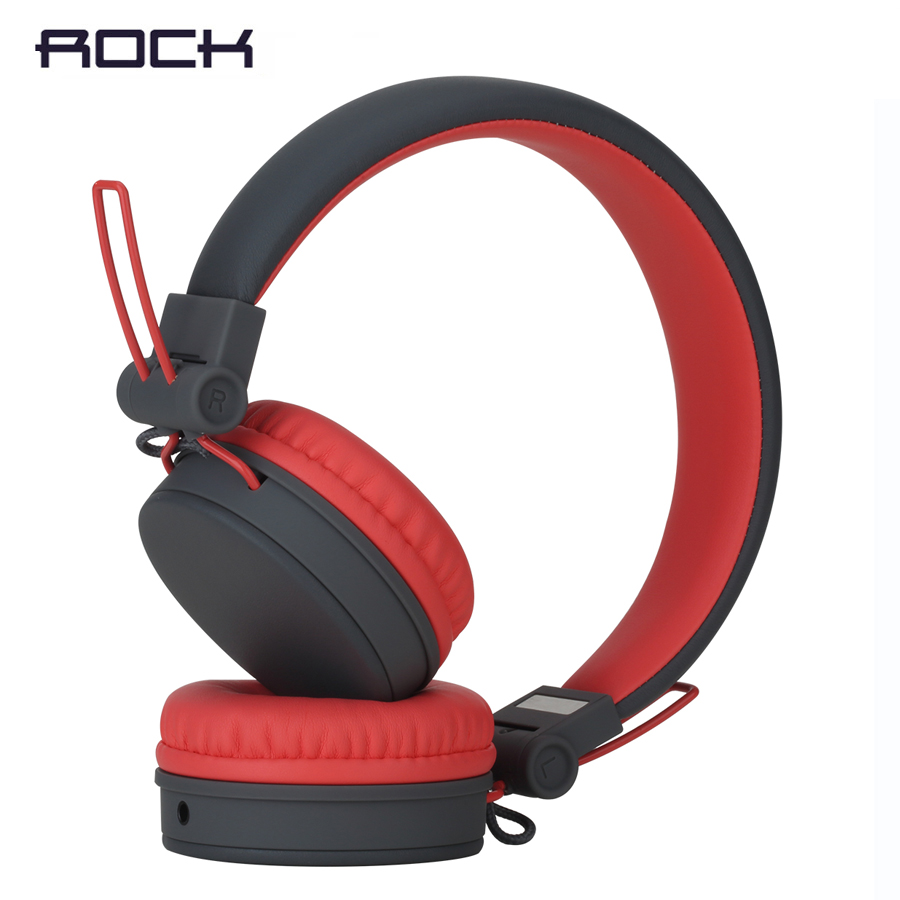 ROCK Y10 Stereo Headphone earphone Microphone Stereo Bass Wired headset for music computer game with Mic mvpower stereo gaming headset super bass wired headphone with microphone for sony playstation 4 for ps4 for ps3 game earphone