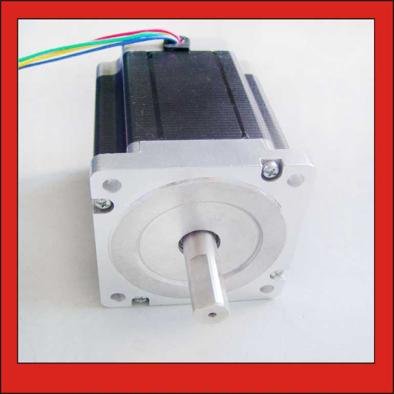 купить High Torque NEMA 34 Stepper Motor 86mm 8.2N.m (1139oz-in) Body Length 118mm CNC Stepping Motor CE ROHS по цене 2906.21 рублей