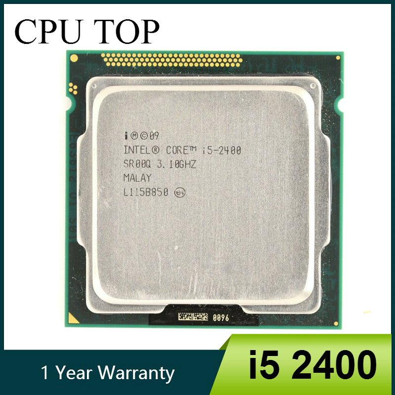 intel core i5 2400 Processor Quad Core 3 1GHz LGA 1155 TDP 95W 6MB Cache i5