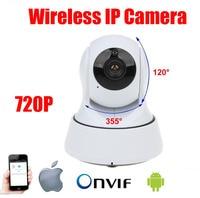 H 264 HD 720P IP Camera Wifi Wireless P2P Infrared Security Camera Pan Tilt CCTV Mini