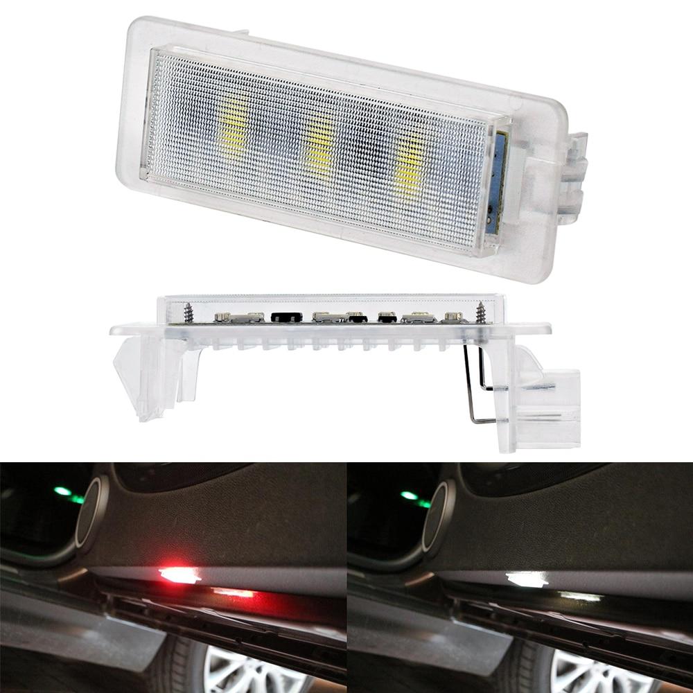 Flashing LED Warning Light Strips For BMW GT MINI E F X M Z Series E60 E90 X3 X5 X6 F10 F11 Door Strobe Welcome Lamp Car Styling