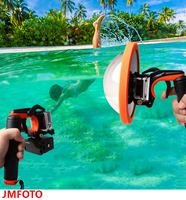 Gopro Accessories Underwater Diving Lens Hood Dome Shutter Stabilizer Trigger Floating Handle Mount Tripod for Go pro Hero 4 3+