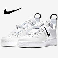 Nike AIR FORCE 1 Männer Skateboard Schuhe Turnschuhe Original Anti-Rutschig 2019 Neue Ausbildung Designer Sportlich Schuhe AO1531-101