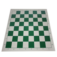 Adult Children Training Black And White Chess Set House That High School Students Are Training In