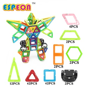 Espeon 115 PCs Robot Regular Enlighten Bricks Educational Magnetic Designer Construction DIY Building Blocks Toys For Children