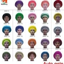 Queency дизайн Африканский Авто геле уже сделал дамы asuke головной убор 1 шт./упак. для свадьбы и вечерние Dhl AS027