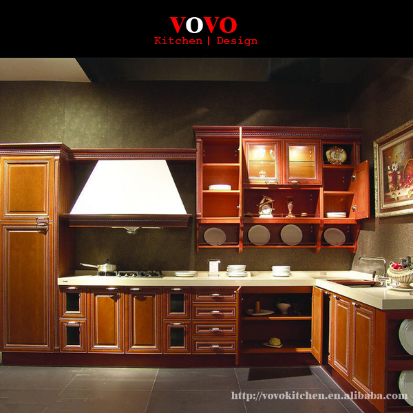 solid plywood kitchen cabinets aliexpress buy antique solid wood kitchen cabinet 26451