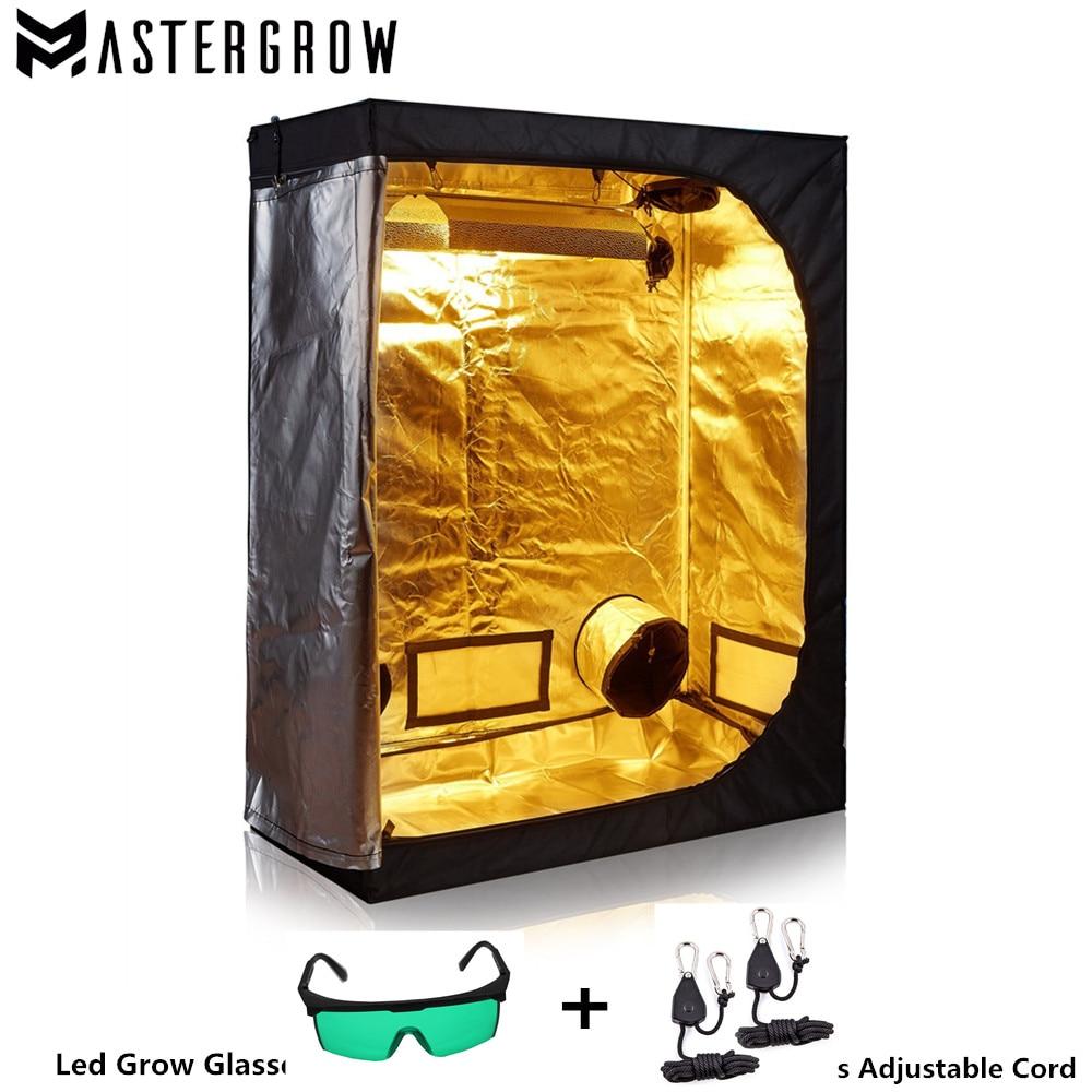 MasterGrow 80X80X160cm Grow Tent Indoor Hydroponics Grow Room Plant Growing Reflective Mylar Non Toxic Garden Greenhouses