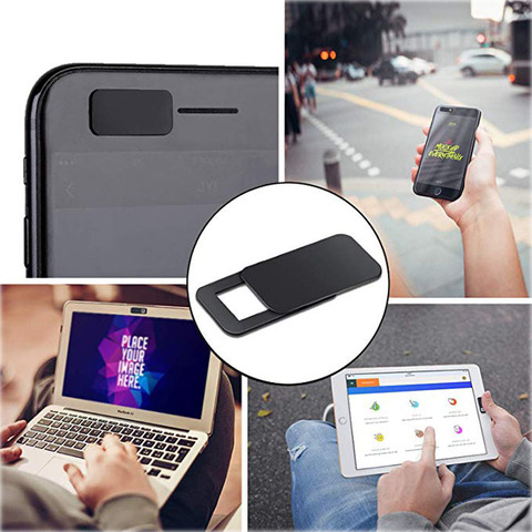 6Pack TEHRAN Webcam Cover Shutter Magnet Slider Plastic Camera Cover for Laptops Mobile Phone Lens Privacy Sticker Multan