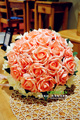 2017 Cheap Wedding/Bridesmaid Bouquets New Arrival Champagne Bridal Handmade Artificial Ivory Bouquet de mariage ramo de la boda