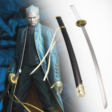 classic movie katana cosplay anime vergil sword carbon steel blade vintage home decor
