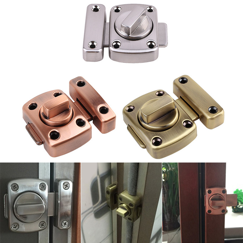 Hasp Latches Sliding Door Stainless Steel Chain Security Locks Hardware Tools and Tools For Window Cabinet Home Hotel LG66