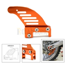 Orange Color New Hot Selling Motorcycle Rear Brake Disc Guard Potector FOR KTM525 XCW2007 MXC2003-2005