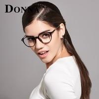 Donna Ladies Vintage Eyewear Glasses Frames Oversize TR90 Women Men Optical Eyeglasses Frame Ultra Light Frame
