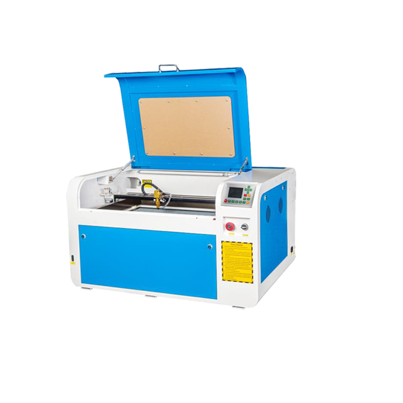 Songli pine stand plastic leather small lettering multi-functional acrylic advertising PVC 4060 40w laser engraving machine