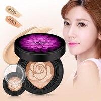 BB Creams Sunscreen Air Cushion Face Base Pressed Powder Skin Smooth Concealer Moisturizing Foundation Whitening Makeup Skin Care