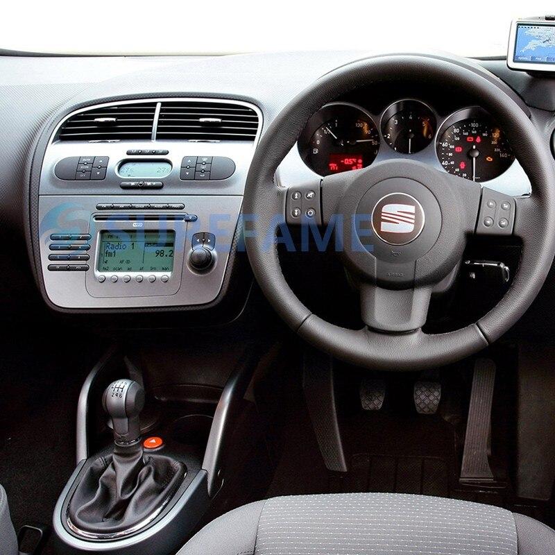 Автомагнитола для сиденья Altea 2004+, Toledo 2004-2009(правое колесо) DVD Dash Moun Kit приборная пластина отделка обрамляющая панель