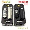 Subtech S30 Nano Vaporizador 2000 mAh 30 W Vape Pen com 2.0 ml H9 0.5ohm cigarro e kit Cigarro Eletrônico atomizador para e líquido