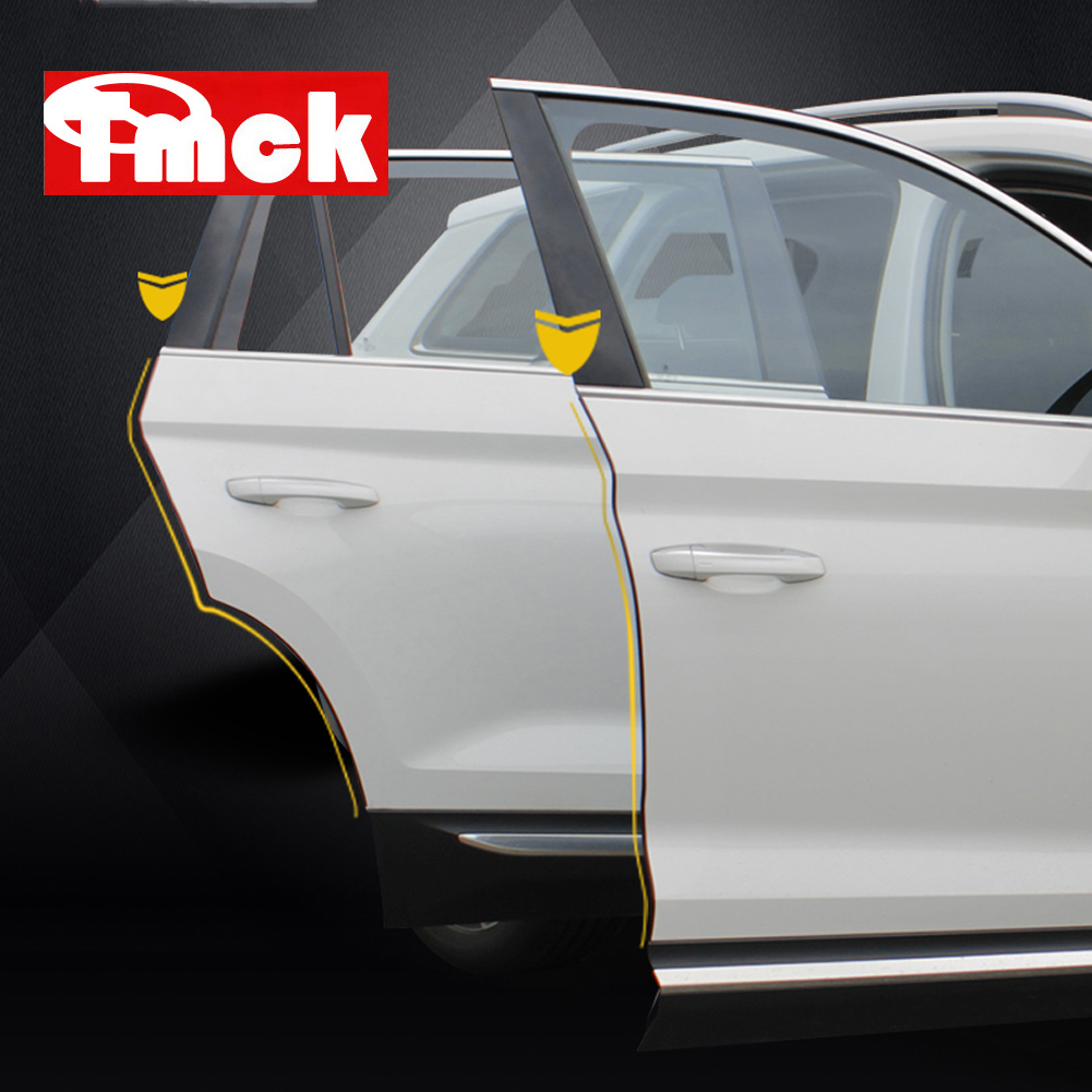 For Mercedes Benz A B C E GLK Class W177 W246 W205 W212 W213 X204 Car Door Anti-collision Trunk Protection Rubber Strip Stickers