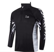 Fishing clothing 2016 Men Fishing Shirt Breathable Anti-UV Quickly Dry Fishing Clothing M005