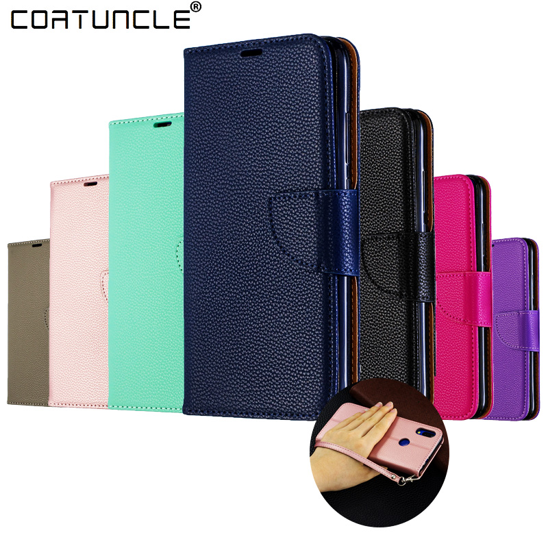 Huawei Honor 8A Case Leather Flip Case Honor 8A Coque Wallet Magnetic Cover on for Huawei Honor 8 A JAT-LX1 Honor8A Phone Cases image