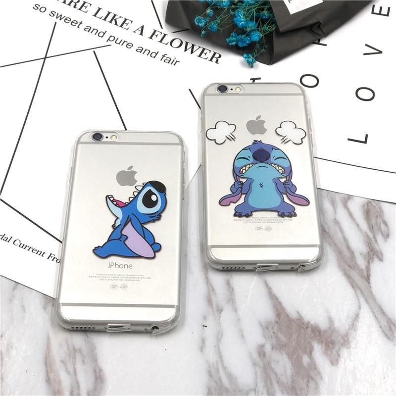 stitch phone case iphone 7 silicone