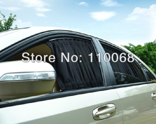 2pairs Lot Auto Curtain For Peugeot 206 207 407 Chevrolet Sail Aveo