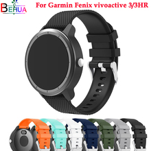 sport Silicone strap Wristband for Garmin vivoactive 3/3HR Smart watch Replacement Watchband Straps Vivoactive 3 3HR