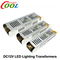 Fuente de Alimentación del LED DC12V 60 W 120 W 200 W 240 W 360 W LED Adaptador de Corriente Del Conductor Transformers Iluminación