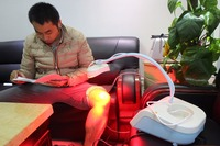 New Red Cold Light Therapy Device better than Infrared Therapy to care Wound Pain and Healing, Frozen Shoulder, burns
