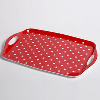 Creative For Household European Rectangular Tea Tray Dinner Plate Tray Fruit Dish Kitchen Supplies Pallets