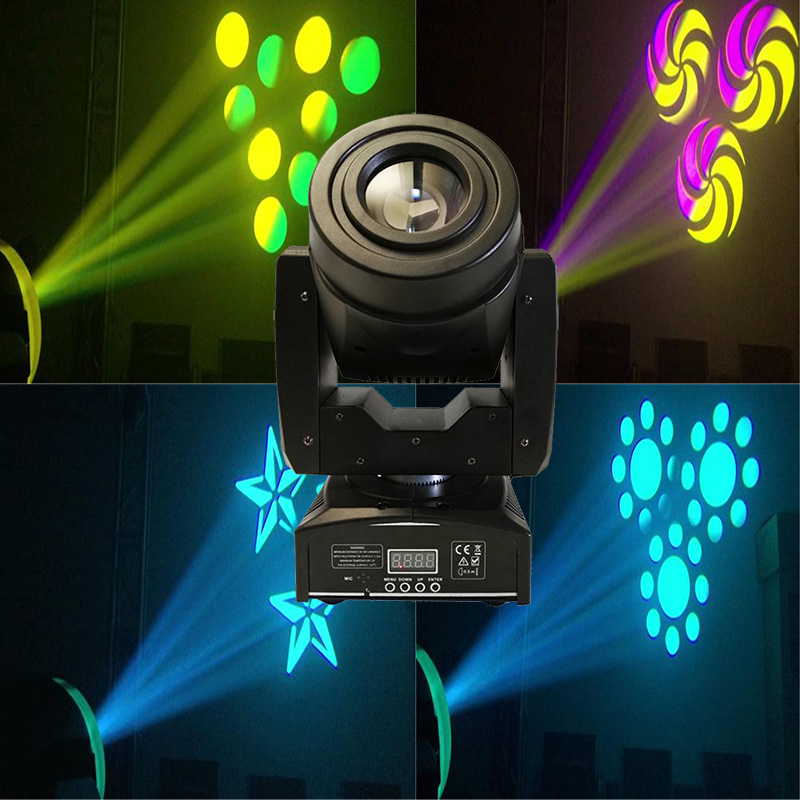 New invented 60W LED Moving Head Light 3 Face Prism Spot Light with Rotation Gobo Function for DJ Disco Stage|moving head light|led moving head light|led moving - title=