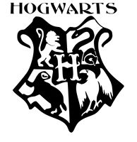 Harry Potter Hogwarts Coat Of Arms Cut Vinyl Wall Art Sticker Decal For Kids Room Free