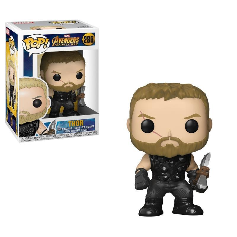 Funko POP The Marvel Avengers3: Infinity War THOR PVC Action Figure Collected toys for Children gift