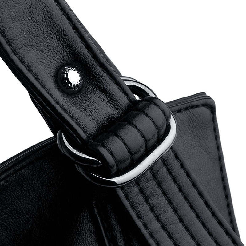 Leisure tote bag women 39 s High capacity shoulder bag sac a main Female leather Crossbody bag luxury handbags women bags designer in Shoulder Bags from Luggage amp Bags