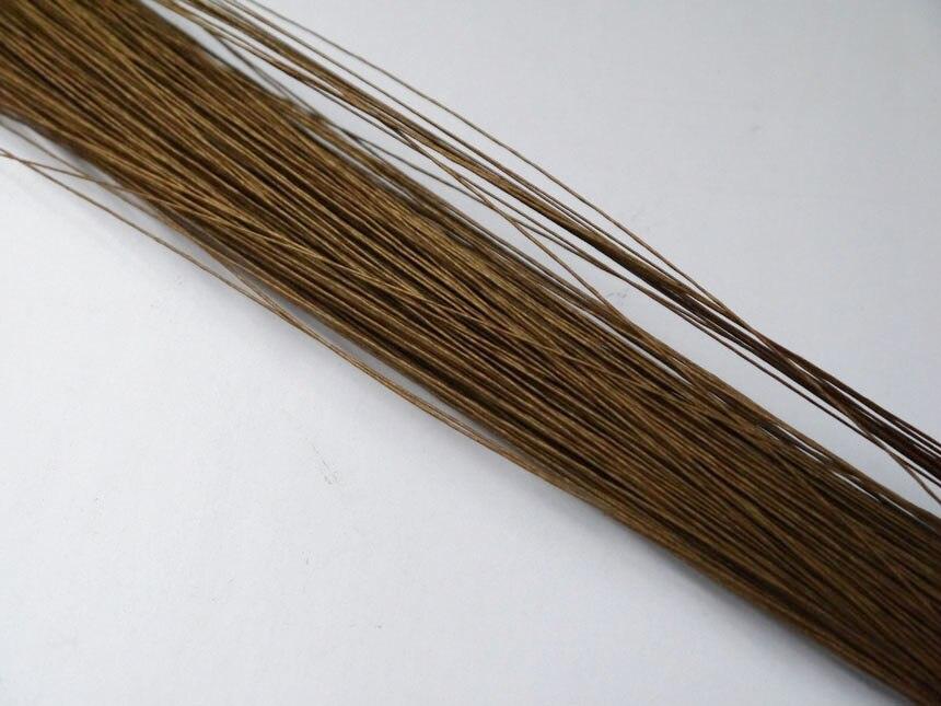 Soie fleur fil 60 pièces 26 # brun papier couvert fil 23 fil de fleuriste