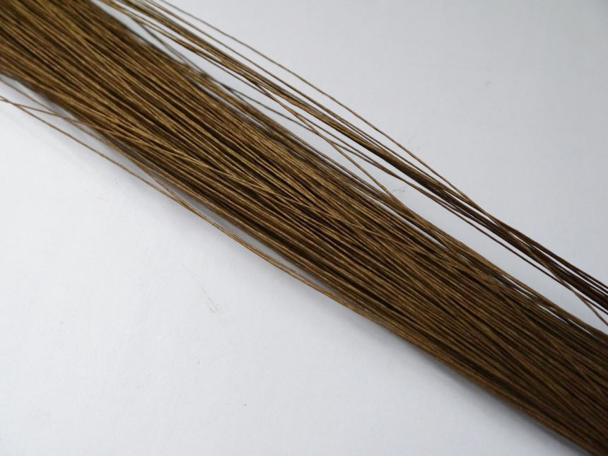 silk flower wire 60pieces 26# brown paper covered wire 23 florist wire