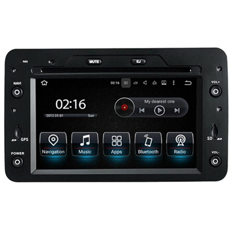 7 Android Car Multimedia Stereo GPS Navigation DVD Radio Audio Sat Nav Head Unit for Alfa Romeo Brera 159 Spider Sportwagon