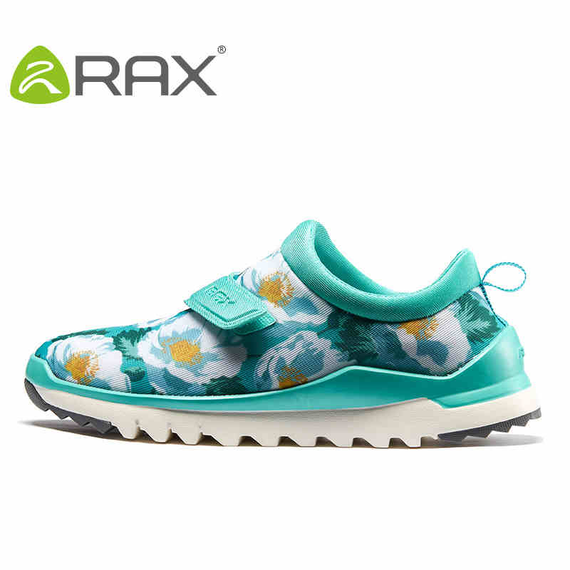 Rax Outdoor Shoes Women Hiking Shoes  Spring And Summer Breathable Climbing Shoes Female Genuine Shock Slip Sport Shoes #B2527 rax women shoes women casual shoes spring and summer breathable damping outdoor shoes b2572