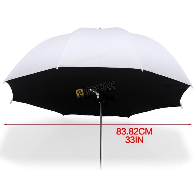 Selens 84 cm/33 translucide parapluie éclairage photo studio parapluies softbox pour photographique lumière