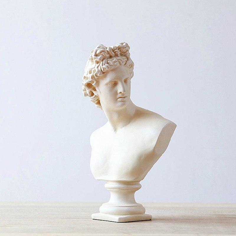 Européenne Rétro Plâtre Déesse Statues Pour la Décoration Sculpture Créativité Résine Artisanat Salon Porche Décoration de La Maison Accessoires