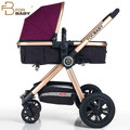 FORBABY baby stroller high landscape baby car can sit and lie portable inflatable baby stroller wheel barrow