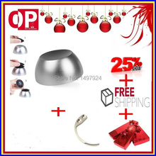 free shipping !1pc universal remove security tag magnet + 1pc mini portable detacher hook key