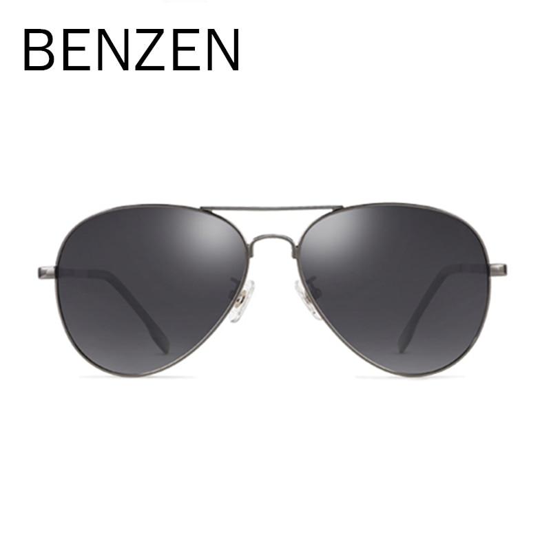 BENZEN Men Polarized Sunglasses Driving Sunglasses Alloy Frame  Oculos De Sol Masculino Sun Glasses