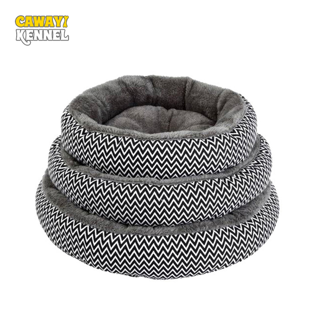 CAWAYI KENNEL Dog Cat Bed House Warm Breathable Soft Pet Nest Dog Sofa Cushion Cat Litter Super Warm Kennel Beds Nests D1204
