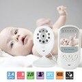 Wireless Baby Monitor 2.4 pulgadas LCD HD Cámara de Vídeo Digital de Seguridad de Dos Vías Talk Nigh Visión IR Monitor de Temperatura llorando Alarma