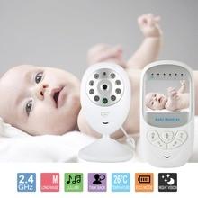 Baby Wireless Monitor 2.4 cal LCD HD Video Security Aparat Cyfrowy Dwukierunkowa Talk Nigh Vision IR Monitor Temperatury płacze Alarmu