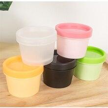 1pcs 50g/100g straight barrel mask box cream cosmetics Packing Sub-bottle Multicolor optional wholesale BQ190