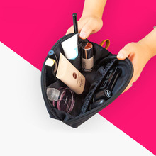 Small Capacity Cosmetic Make up Bag Travel Protable Makeup Bag Purse Pouch Zipper Main Brand Beautician Clutch bags wholesale